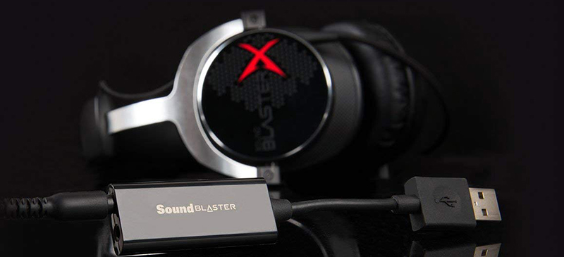 Creative Sound Blaster Play!3 - USB-DAC-Amplificateur et Carte Son externe (noir)