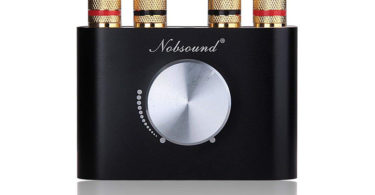 Nobsound Mini Amplificateur de puissance Bluetooth Stereo Hi-Fi Digital Amp 2.0