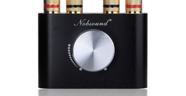 Nobsound Mini Amplificateur de puissance Bluetooth Stereo Hi-Fi Digital Amp 2.0