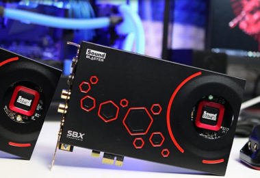 Avis Creative Sound Blaster ZxR - Carte Son Ultra Haute Performance PCIE - SBX ProStudio