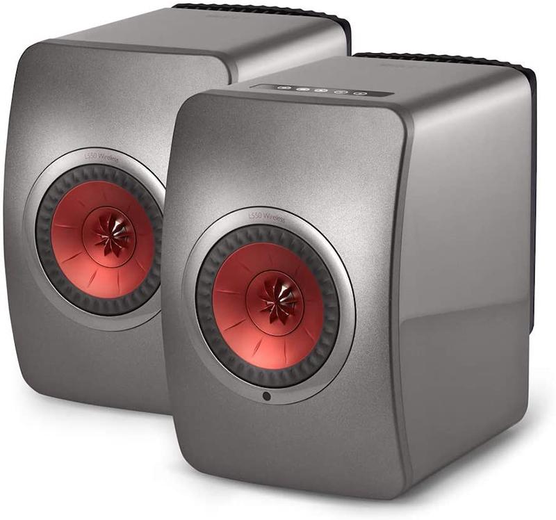 KEF LS50 Wireless Titane